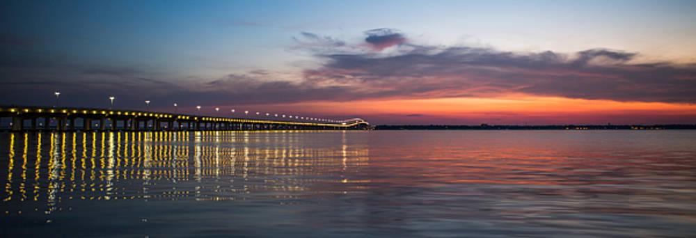 Biloxi/Ocean Springs Bridge by Michael Touchet
