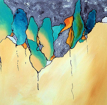 Biological Abstract I by Victoria Johns