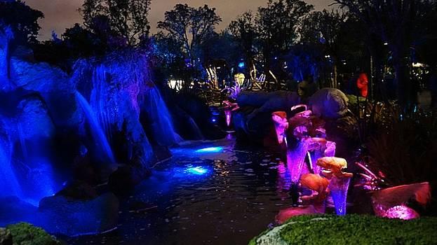 Bioluminescent Pandora by Barkley Simpson