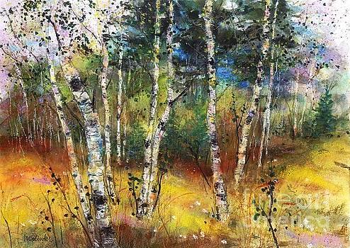 Birch and Pine by Diane Splinter