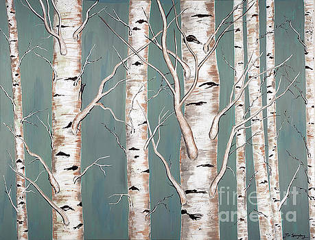 Birch Trees by Timothy Spongberg