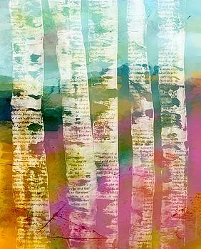 Birch Trees by Lisa Noneman