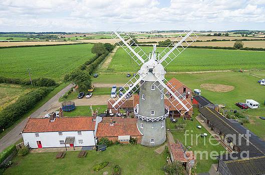 Bircham Windmill by Steev Stamford