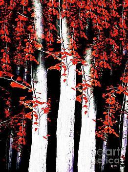 Birches by Daniel Janda