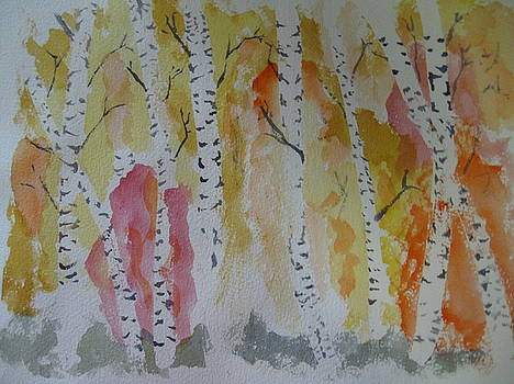 Birches by Everett Kimball