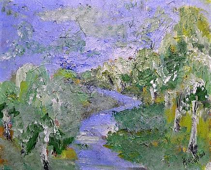Birches by Katerina Naumenko