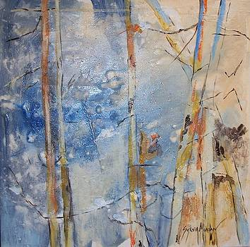 Birches by Sylvia Morgan