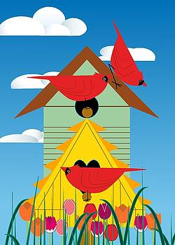 Bird Condo by Marie Sansone
