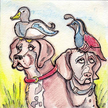 Bird Dogs by Ray Hofstedt