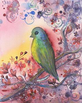 Bird in paradise   by Nino Gabashvili