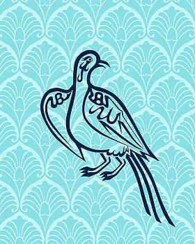 Bird of Glory--Blue Mod by Misha Maynerick
