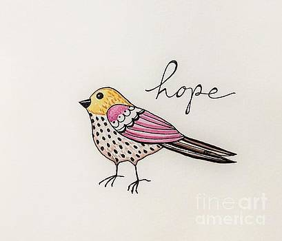 Elizabeth Robinette Tyndall - Bird of Hope