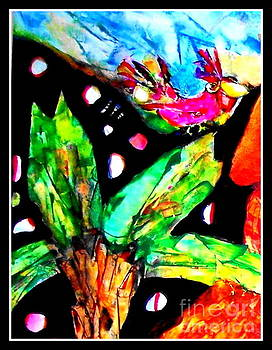 Bird Of Paradise by Claire Sallenger Martin