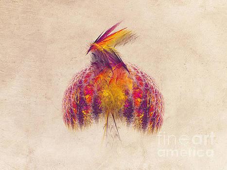 Justyna Jaszke JBJart - Bird of Paradise Fractal Art