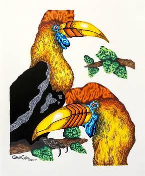 Bird of Paradise by Gabriel Cajina