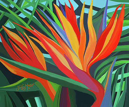 Bird of Paradise3 by James  Mingo