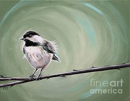 Elizabeth Robinette Tyndall - Bird on a Branch