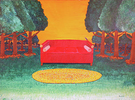 Bird on the Couch by Thomas Blood