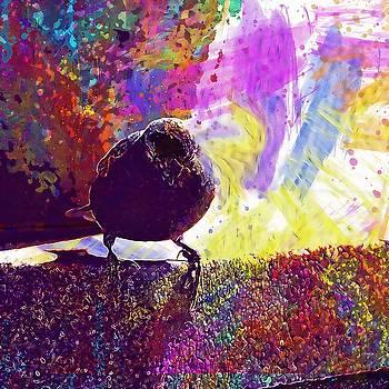 Bird Sparrow Ave Little Bird  by PixBreak Art