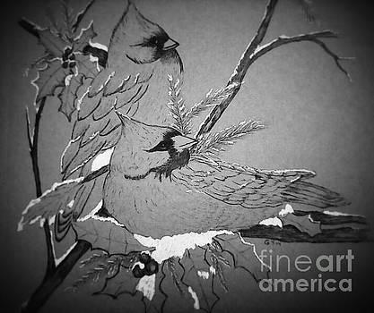 Bird Talk by Ginny Youngblood