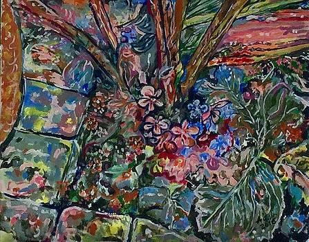 BIrd view corner garden by Adair Robinson