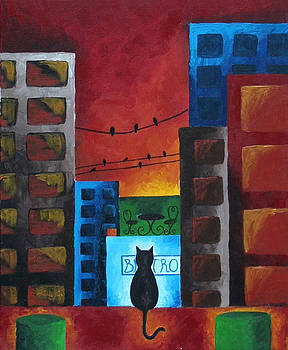 Bird Watching in the City by Amy Parker