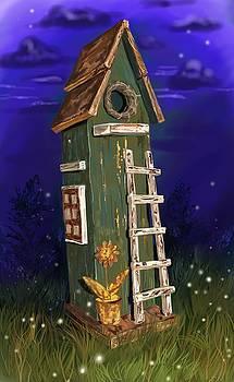 Fairy's Birdhouse by Cassandra Gallant