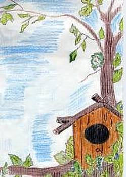 Birdhouse by Lorna Lorraine