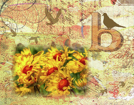 Birds and Blooms by Nadine Berg