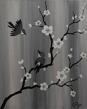 Birds and Blossoms by Emily Page