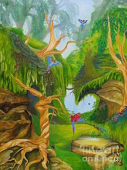 Birds In Paradise by Richard Dotson