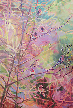 Birds in the Thicket by Azhir Fine Art