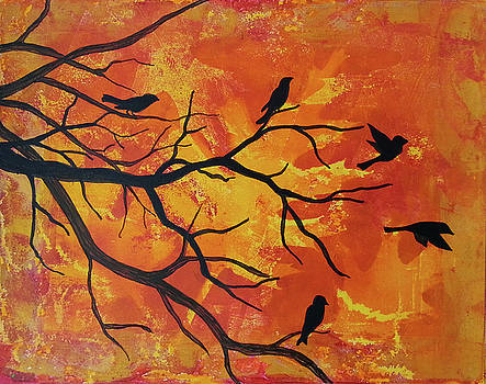 Birds of Autumn by Michelle Vyn