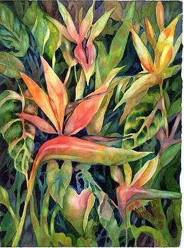 Birds of Paradise by Ann  Nicholson