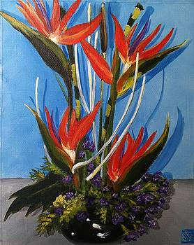 Birds of Paradise by Julie K Ross