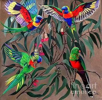 Birds of Paradise by Tatyana Binovska