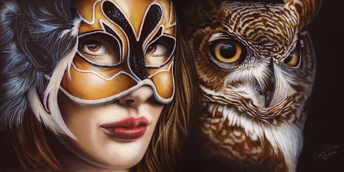 Birds of Prey - Great Horned Owl by Wayne Pruse