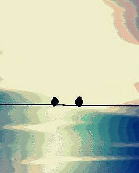 Buddy Scott - birds on a wire