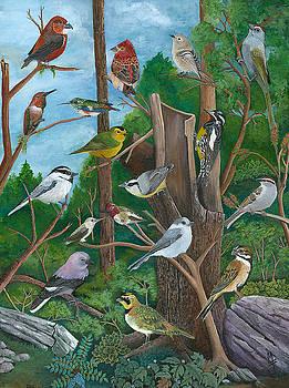 Birds Oregonized by Marsha Friedman