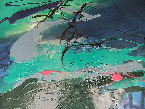 Birds over the Sea by Joyce Garvey