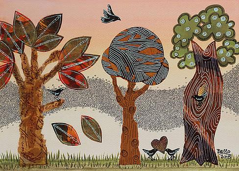 Birds refuge by Graciela Bello