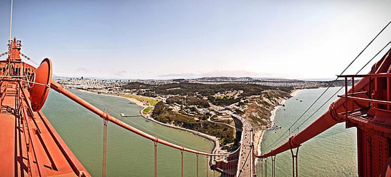 Birdseye View of San Francisco by Jorge Guerzon