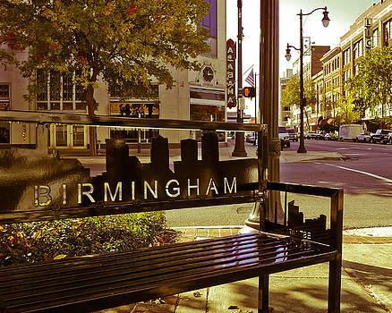 Birmingham Bench by Just Birmingham