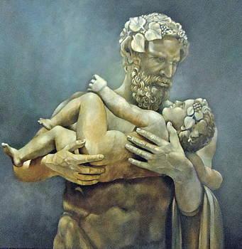 Birth of Bacchus by Geraldine Arata