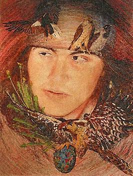 Birth Totem - Falcon by Elizabeth Silk