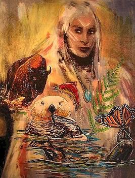 Birth Totem - Otter by Elizabeth Silk