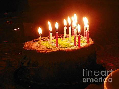 Birthday Cake by Shirley Moravec