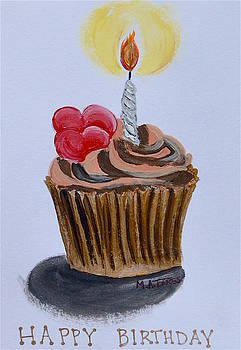 Birthday Cupcake by Melissa Torres