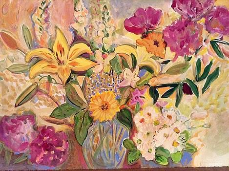 Birthday Garden by Joyce Lieberman