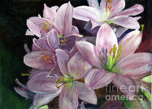 Donna Walsh - Birthday Lilies